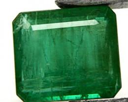 GII Certified Zambia Emerald, 20.00 Carats, Velvet Green Emerald Cut