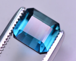 Brilliant Color 1.25 Ct Lagoon Blue Tourmaline From Afghanistan. ARA2
