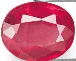 Tanzania Pink Sapphire, 2.08 Carats, Pink Oval