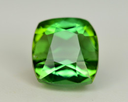 Perfect Color 1.90 Ct Lagoon Green Tourmaline. ARA1