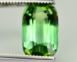 Top Quality 2.50 Ct Lagoon Green Tourmaline From Afghanistan. ARA1