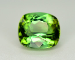 Gorgeous Color 1.90 Ct Lagoon Green Tourmaline From Afghanistan. ARA1
