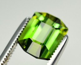 Amazing Color 2.40 Ct Green Tourmaline From Afghanistan. ARA1