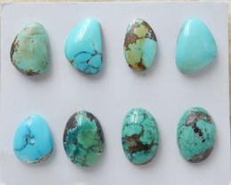 Beautiful Turquoise ,Handmade Gemstone ,Turquoise Cabochons ,Lucky Stone D8