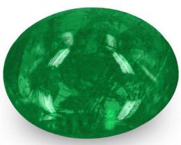 Zambia Emerald, 1.49 Carats, Rich Green Oval