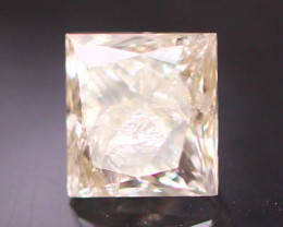 Diamond 0.28Ct Princess Cut Fancy Natural Diamond CF1546