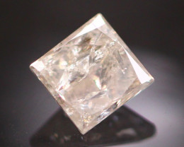 Diamond 0.44Ct Princess Cut Fancy Natural Diamond CF1548
