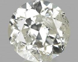0.50 CT DIAMOND WITH SPARKLING LUSTER GEMSTONE DW5