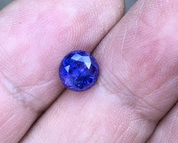 2.21 ct sapphire certified unheated Sri Lanka.