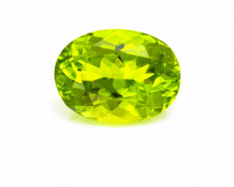 Peridot 3.81 ct Pakistan GPC Lab