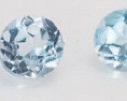 1.30 mm Topaz 0.13 ct Brazil GPC