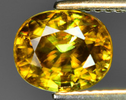 Mind Blowing Fire 2.45 Cts Chrome Sphene ~ SP12