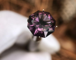 Purple Spinel - 6.90 carats