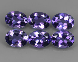 10.10 CTS GENUINE NATURAL ULTRA RARE LUSTER PURPLE AMETHIYST GEM!!