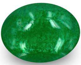 Zambia Emerald, 1.75 Carats, Rich Green Oval