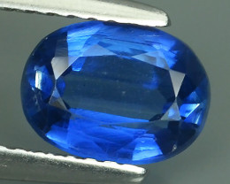 1.40 CTS OVAL CUT 100% NATURAL RARE BLUE COLOR NEPAL KYANITE GEM!