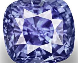 GIA Certified Sri Lanka Blue Sapphire, 5.25 Carats, Fiery Vivid Blue