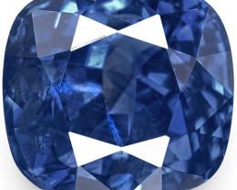 GRS Certified Sri Lanka Blue Sapphire, 4.41 Carats, Vivid Royal Blue