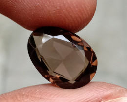 SMOKY QUARTZ ROSE CUT EXCELLENT QUALITY GEMSTONE VA2090