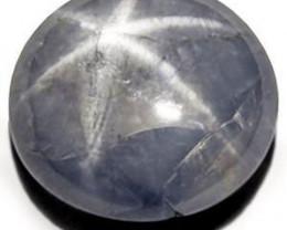 Burma Blue Star Sapphire, 4.48 Carats, Light Blue Oval