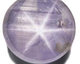 Sri Lanka Fancy Star Sapphire, 2.30 Carats, Light Pinkish Grey Round