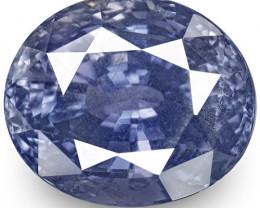 GIA Certified Sri Lanka Blue Sapphire, 5.54 Carats, Oval
