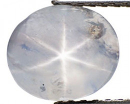 Sri Lanka Fancy Sapphire, 4.01 Carats, White Oval