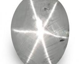 IGI Certified Sri Lanka Fancy Star Sapphire, 6.68 Carats, Violetish Grey