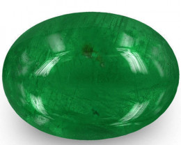 Zambia Emerald, 1.41 Carats, Royal Green Oval