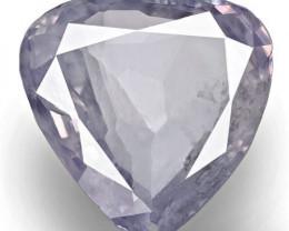 GRS Certified Kashmir Blue Sapphire, 5.43 Carats, Pastel Violetish Blue