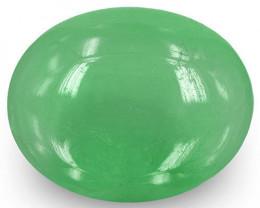 Colombia Emerald, 17.91 Carats, Medium Green Oval