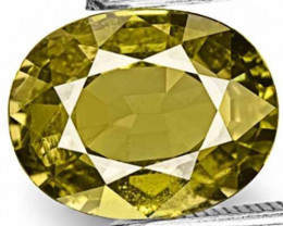 AIGS Certified Tanzania Fancy Sapphire, 3.16 Carats, Oval
