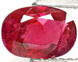 Mozambique Ruby, 1.16 Carats, Blood Red Oval