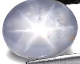 Sri Lanka Fancy Star Sapphire, 5.81 Carats, Bluish Grey Oval