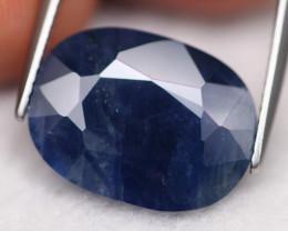 Sapphire 10.23Ct Natural Blue Sapphire C1604