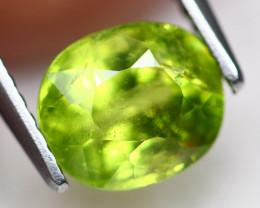 Grossular 1.88Ct  Natural Green Grossular Garnet C1607