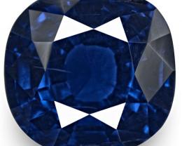 IGI Certified Madagascar Blue Sapphire, 2.32 Carats, Cushion