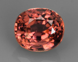 1.85 CTS~EXCEPTIONAL NATURAL RARE PINK COLOR OVAL ZIRCON SRI~LANKA!!