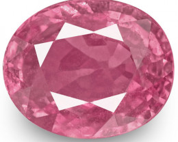 GIA Certified Sri Lanka Padparadscha Sapphire, 1.33 Carats, Oval