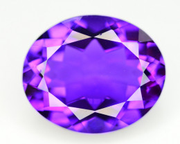 14 Ct Top Quality Natural Amethyst > Brazil