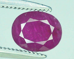 Top Color 0.90 ct Pink Ruby ~ Afghanistan