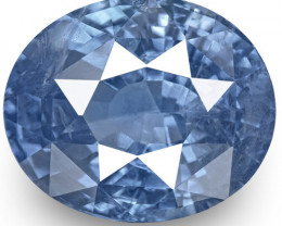 GIA Certified Sri Lanka Blue Sapphire, 5.62 Carats, Lively Intense Blue