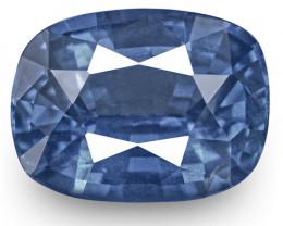 IGI Certified Burma Blue Sapphire, 1.01 Carats, Velvety Cornflower Blue