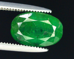 Top Color 2.05 ct Zambian Emerald