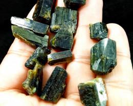 172.00 Cts Beautiful, Superb  Brown Epidot Crystal Lot