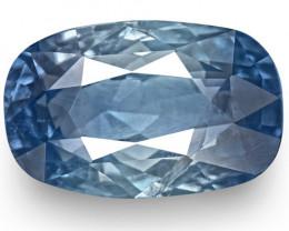 GIA & IGI Certified Kashmir Blue Sapphire, 4.30 Carats, Lustrous Blue