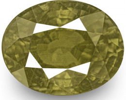 AIGS Certified Madagascar Color Change Sapphire, 7.05 Carats, Oval