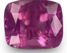 IGI Certified Pakistan Pink Sapphire, 2.05 Carats, Velvety Purplish Pink