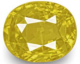 GIA Certified Sri Lanka Yellow Sapphire, 5.99 Carats, Oval