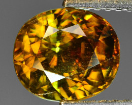 Mind Blowing Fire 2.80 Cts Chrome Sphene ~ SP14